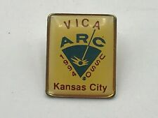 1994 Vtg VICA Vocational  Industrial Clubs  America Pin ARC USSO Kansas City D1