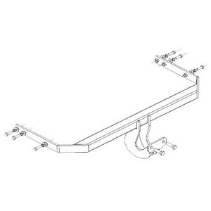 Witter Towbar for Seat Altea 2004-2007 - Flange Tow Bar