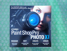 Corel Paint Shop Pro® Photo XI (New ! sealed cd +Key Code) OEM