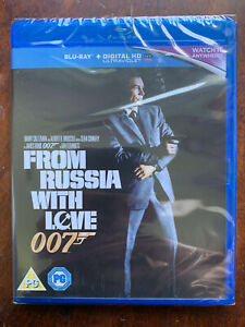 From Russia With Love Blu-ray 1963 James Bond Movie Classic w/ Sean Connery