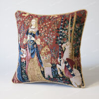 """18/""""x18/"""" Jacquard Weave Tapestry Pillow Cushion Cover William Morris Hare US"""