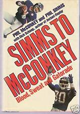 Simms To McConkey by Phil Simms and McConkey (Giants)