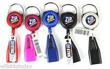 5 Zip Stick Lip Balm Chapstick Holder Zipstick 1 of each color
