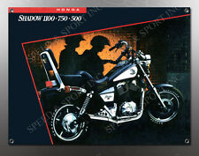 VINTAGE HONDA SHADOW 100-750-500 IMAGE BANNER NOS IMAGE REPRODUCTION