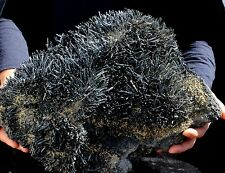 33.0Lbs Large Shining Stibnite Cluster Mineral Display Specimen!