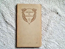 ARIADNE IN MANTUA BY VERNON LEE 1906 MOSHER PRESS