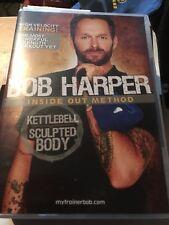 Bob Harper Inside Out Method - Kettlebell Sculpted Body DVD Free P&P UK only