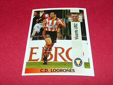 VICENTE URIZ C.D. LOGRONES PANINI LIGA 96-97 ESPANA 1996-1997 FOOTBALL