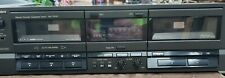 Technics Rs-Tr157 Double Cassette Deck Dual Stereo Auto Reverse Dolby