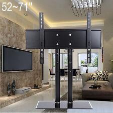 "Slim 52-71"" Universal LCD LED Plasma VESA Wall Mount TV Stand Bracket Desktop"