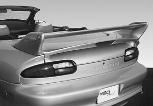 1993-2002 Chevy Camaro Wings West Commando Spoiler Wing WHITE M3