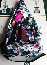 New - Vera Bradley ReActive Sling Backpack Bag in Garden Picnic Recycled Bottles