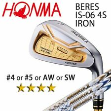 4-STAR HONMA GOLF JPN BERES IS-06 SINGLE IRON (#4.5.A or S) ARMRQ X 2018 091802