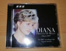 CD Diana BBC Princes of Wales 1961 - 1997 The BBC Recording Funeral Service