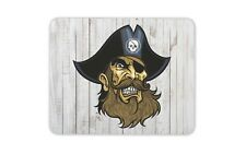 Cool Pirate Mouse Mat Pad - Jolly Roger Skull Pirates Fun Gift PC Computer #4152