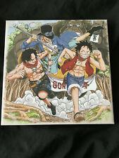 One Piece Canvas Board The Greatest 20th Anniversary Ichiban Kuji Ace Sabo Luffy