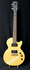 CLEAN 2012 Epiphone Special Model Electric Guitar Vtg Yellow 0066
