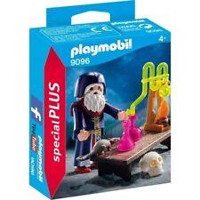PLAYMOBIL 9096 Alquimista Medieval, Alchemist, Brujo, Mago, Wizard NUEVO / NEW
