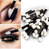 Cosmetic Tool Up Disposable Applicator Eyeliner Stick Eye Shadow Sponge Brush