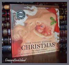 Night Before Christmas by Santore New Illustrated Large Deluxe Hardcover Gift