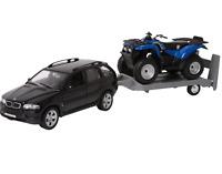 WELLY Boys Kids Car Toy Off-Road Car Model Set Black Legler Age 5 Years+