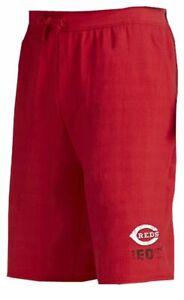 Cincinnati Reds MLB Mens Majestic Cotton Shorts Red Big & Tall Sizes