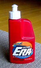 RARE vintage 1993 ERA LAUNDRY DETERGENT bottle WEIRD SHAPE household product OLD