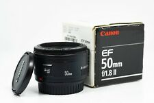 Canon EF 50mm F/1.8 II Standard AutoFocus Lens - Boxed