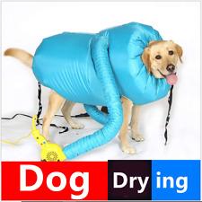 Dry-Dog Bag towel fleece dog bag with zip DRY DOG BATH Grooming Drying Large Bog