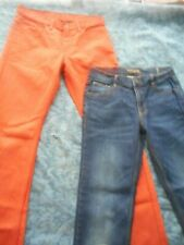 Boys 14 Jeans Lot, Levis and Ring of Fire Slim Fit, both in EUC Back to School