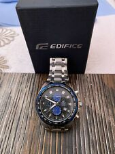 Casio Edifice EF539 Stainless Steel Case, Stainless Steel Strap,