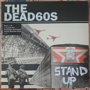 The Dead60s - Stand up - The Dead 60s - Rock Punk - The Clash - VINYLE BLANC