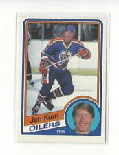 1984-85 O-Pee-Chee #249 Jari Kurri Oilers