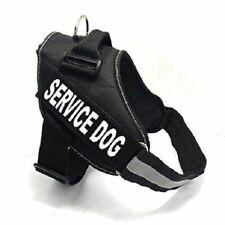 Servicio fairwin arnés del perro ~ Tamaño: grande (circunferencia 58-74cm) ~ Negro ~ Nuevo