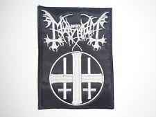 MAYHEM BLACK METAL EMBROIDERED PATCH