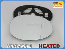 Wing Mirror Glass For TOYOTA AYGO 2005-2014 Wide Angle HEATED Right Side #JT014