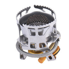 Mini Portable Wind-proof Camping Gas Stove Outdoor Cooking Burner+Case 2 Mode