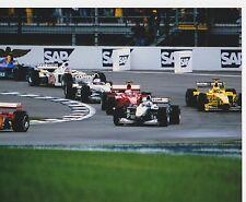 Mika Häkkinen McLaren MONTOYA Barrichello villeneuve USGP INDY 8 X 10 PHOTO 4