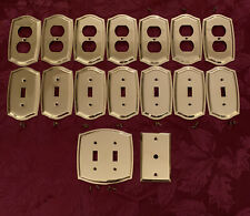 Baldwin Hardware Brass Switch Plates Outlet Covers Coaxial Cable Cover