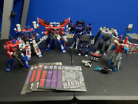 Transformers Siege WFC War For Cybertron Lot Voyager Leader Prime Magnus Megatro