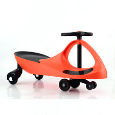 Kid Toy Ride On Wiggle Car Twist Toddler Child Fun Exercise Swing Gyro Red
