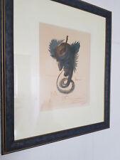Lithographie Salvador Dali handsigniert