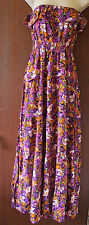 New with tags atmosphere multi-coloured  floral long sundress size 8
