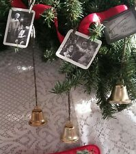 IT'S A WONDERFUL LIFE Christmas Ornament, Bell Rings as Angel Gets Wings, Photos