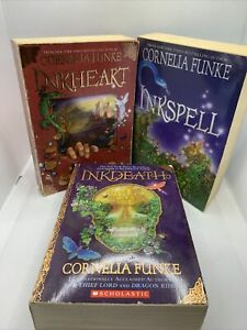 Inkheart Trilogy Boxset Of Books. Free Shipping.  Used.