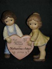 Goebel Porzellan Figur Nina & Marco mit Herz zur goldenen Hochzeit, 11-083