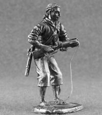 Tin Toy Soldiers Pirate 54mm Medieval Miniature 1/32 scale Figurine