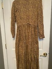 Women's Civil War Day or Work Dress, Brown, Very Gently Used, Size 18