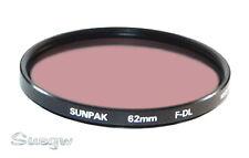 62mm Sunpak F-DL (FLD) Lens Filter