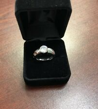 18k White Gold Engagement Ring